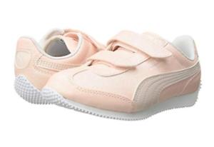 Details about PUMA Little Girls Light Pink Glitter Whirlwind Glitz Sneaker Tennis Shoes Size 3