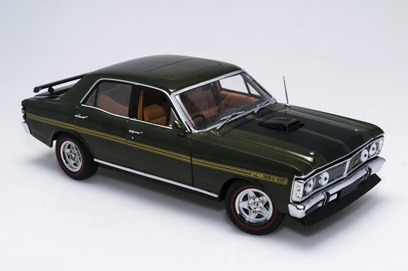 1 18 Biante - Ford XY Falcon GTHO Phase III - Jewel Green