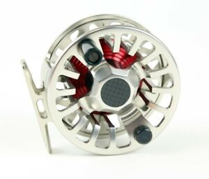 Ross-F1-Nickel-Silver-Fly-Fishing-Reel-NEW-Otto-039-s-Tackle-World