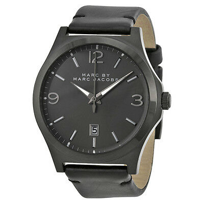 Marc by Marc Jacobs Danny Black DialBlack Leather Mens Watch MBM5041