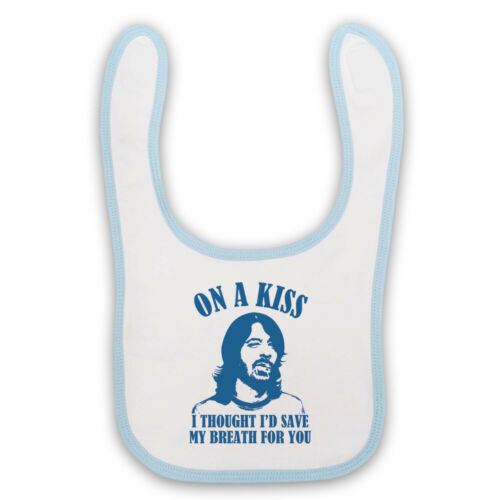 ROPE ON A KISS UNOFFICIAL DAVE GROHL GRUNGE ROCK BABY BIB CUTE BABY GIFT