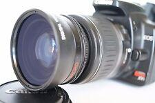 Macro Wide Angle Lens for Canon Eos Digital Rebel & XTi sl1 XTi w/18-55 EFS II