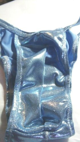 Men S M L or XL Ruche back Shiny Spandex NEW  Handmade pouched tanga colors USA