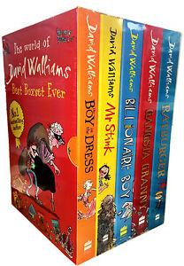 David walliams collection 5 books set