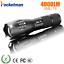 LED Rechargeable Flashlight Pocketman XML T6 linterna torch 4000 lumens 18650