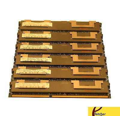24GB 6X4GB DDR3 ECC REG MEMORY FOR DELL PRECISION WORKSTATION T5500 T7500