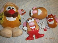 Mr Potato Head Plush Toy And Mr & Mrs Plastic Charractors bodies and spares