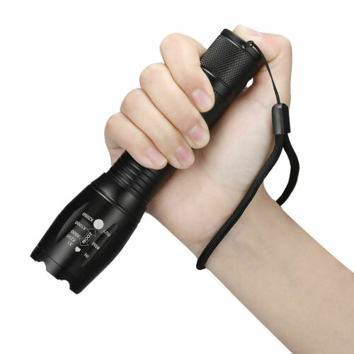Details about  /3 x Tactical 18650 Flashlight Ultrafire T6 High Powered 5Modes Zoomable Aluminum