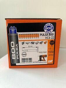 Clou-SPIT-Pulsa-800-NEUF-boite-de-500-22mm-HC6-22-pour-cloueur