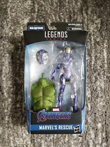 Marvel-Legends-6-034-Rescue-Avengers-Endgame-Pepper-Potts-New-Sealed-Smart-Hulk