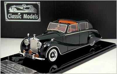 1//43 Rolls Royce Phantom IV Franay cabriolet 1952 Châssis 4AF22 vert
