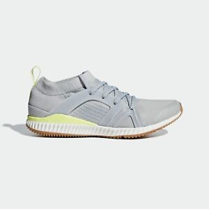 adidas by Stella McCartney CrazyTrain Pro Sizes 4.5, 5.5 Grey RRP £120 RARE