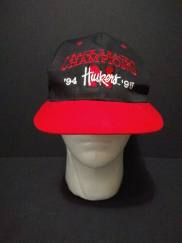 Huskers Back to Back Champions '94 95' Nebraska Sn