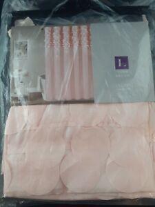 Lush Decor Lillian Shower Curtain Blush