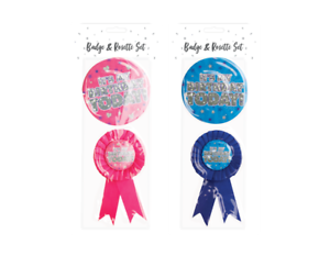 Party Birthday Celebration Parties Friends 2 Piece Birthday Party Badge