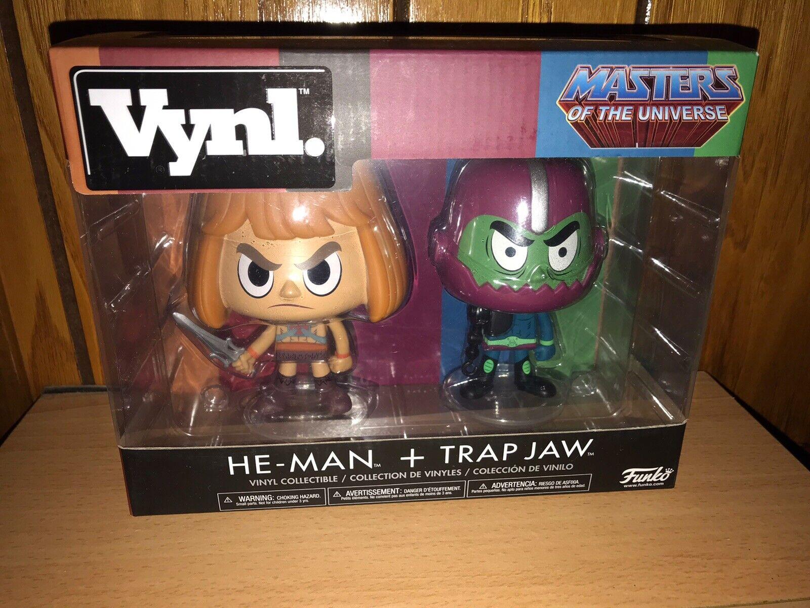 Vynl MOTU He-Man and Trapjaw 2 Pack Funko 01858