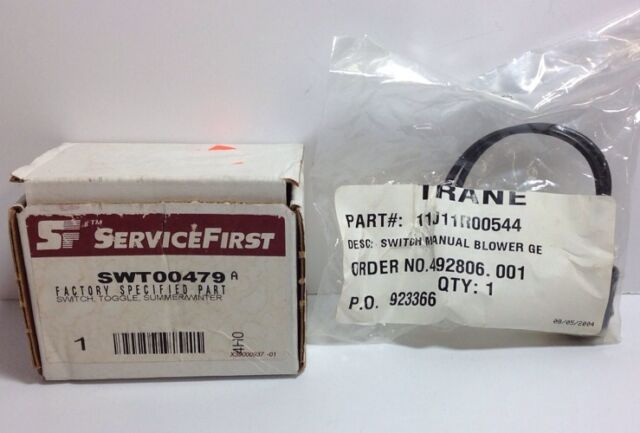 Trane 11J11R00544 Service First Swt00479 Manual Toggle Switch Blower  Swt00479a