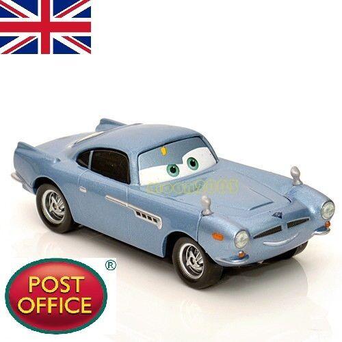 Original 1:55 Disney Pixar Cars 2 Diecast Finn Mc Missile voiture enfant jouet cadeau 3