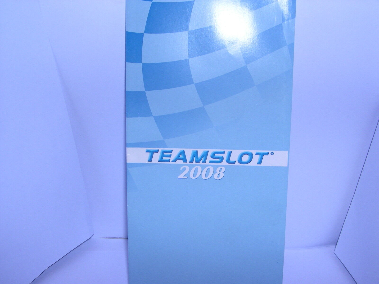 TEAM SLOT CATALOG BROCHURE DROP-DOWN YEAR 2008 NEW