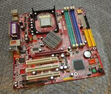Microstar 865GM2 / MS-6743 REV: 1.1 Socket 478 Motherboard complete with CPU