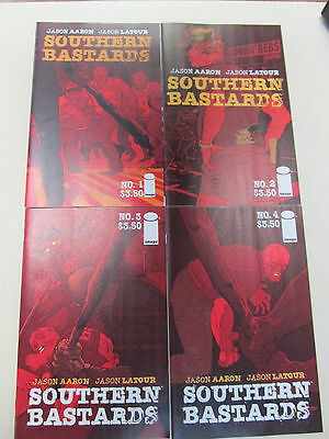 Supply Southern Bastards #1-4 Aaron Latour Image 1 2 3 4 1st Prints Modern Age (1992-now)