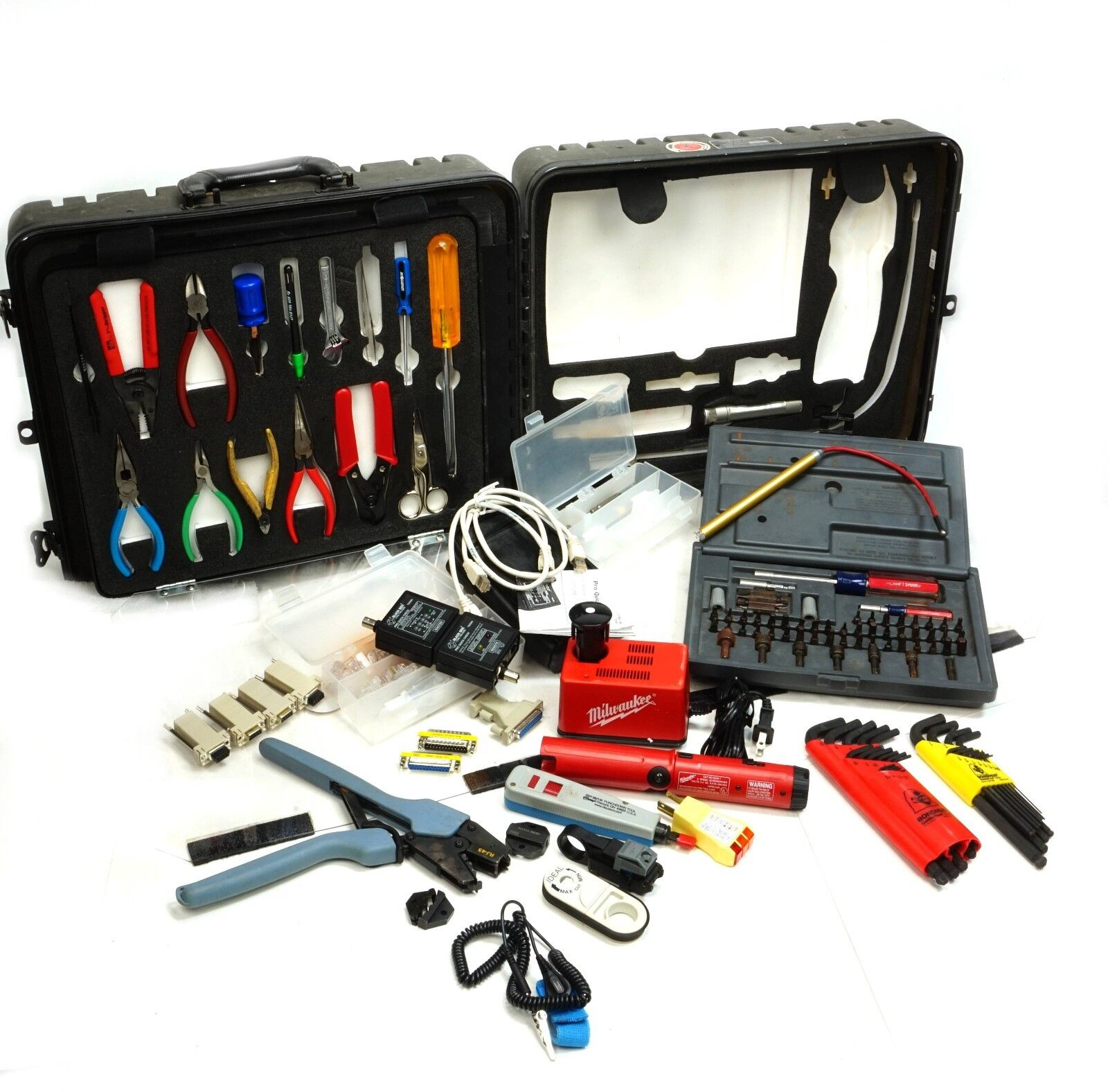 USMC Data Network & Coaxial Tool Kit, Milwaukee Xcelite, Compare Greenlee PA901039