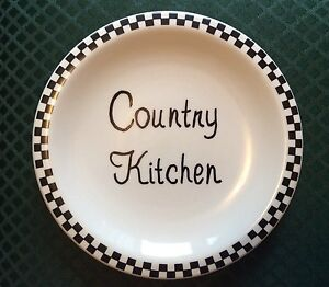 Details about COUNTRY KITCHEN DECORATIVE PLATE - WALL DECOR - KITCHEN -  COUNTRY THEME