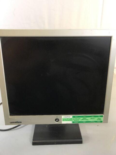 """eMachines® E17T4 700G 17""""  Monitor Silver/Black"""