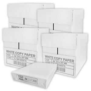 10000 Blatt Kopierpapier A4 Druckerpapier Fax Laser Tintenstrahl Copy Paper
