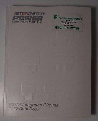 1987 Integrated Power Semiconductors Ips Power Integrated Circuits Databook Geavanceerde TechnologieëN