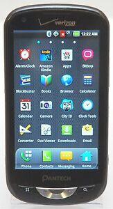pantech adr8995 vw breakout verizon lte cell phone 4 touchscreen rh ebay com Verizon Smartphones 4G Manual Pantech Cell Phone Manual