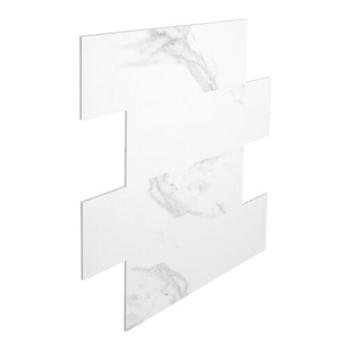 2.29 qm Wandfliesen fugenlos Bad SPC Vinyl Fliesen Steinoptik Boden 75x30cm PS