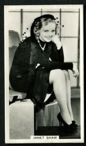 Tobacco-Card-Ardath-PHOTOCARDS-FILM-ETC-GROUP-M-Standard-1939-Janet-Shaw