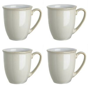 Image is loading Denby-Linen-Coffee-Mug-Beakers-0-3ltr-4-  sc 1 st  eBay & Denby Linen Coffee Mug Beakers 0.3ltr 4 Pack 1st Quality 40% Off RRP ...
