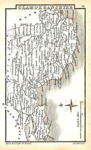Antique-map-Glamorganshire