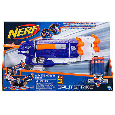 NEW NERF N-Strike Elite Split Strike Age: 8+
