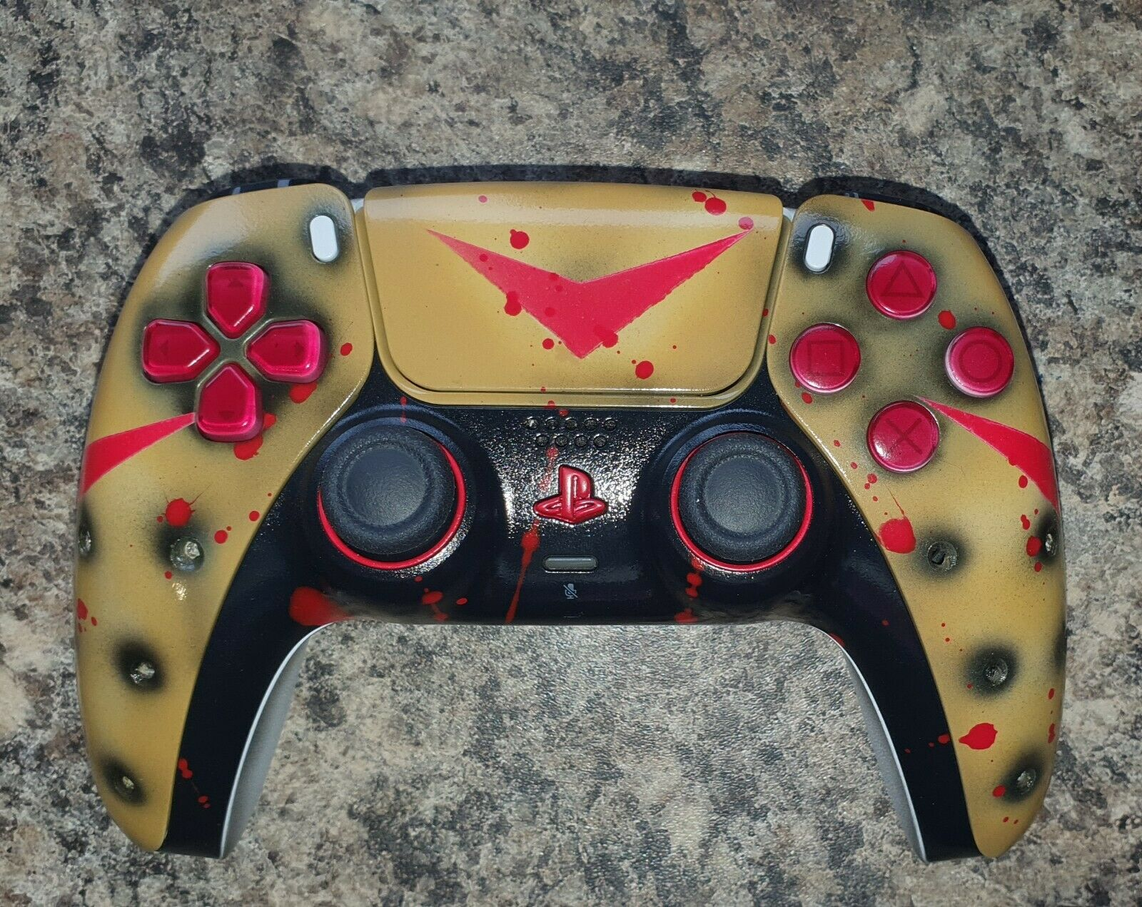 PS5 Dualsense Controller - Jason Voorhees Edition - Friday The 13th - Custom