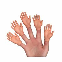 Set Of Ten Finger Hands Finger Puppets Free Shipping