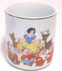 Prod White About Tea Dwarfs Details Coffee Disney Walt 7 Character Japan Mug Snow Cup Vtg HIWD92E