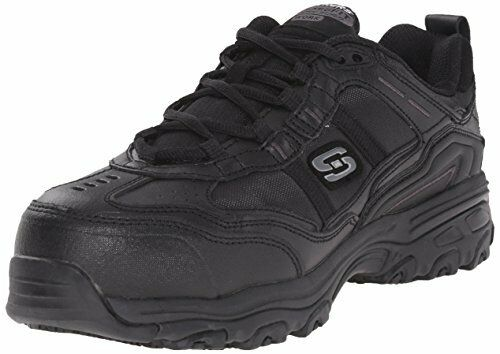 Skechers For Work Womens DLite Slip Resistant Toliand shoes- Select SZ color.