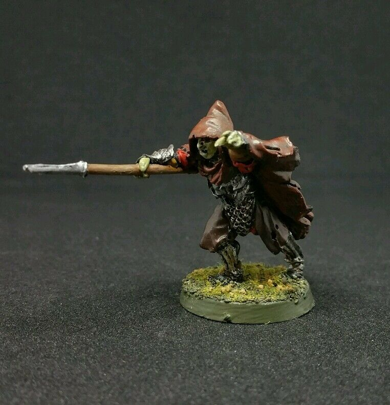 Morannon Orc Shaman Pro painted metal model LOTR The Hobbit OOP
