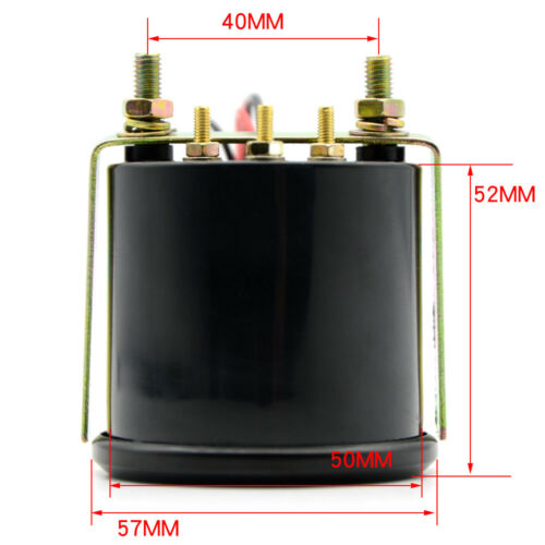 52mm AGG-1 Smoked Oil Temp Temperature Gauge /& 1//8npt Sensor