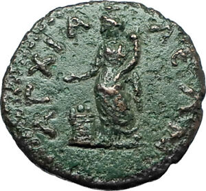 SEPTIMIUS-SEVERUS-193AD-Anchialus-Authentic-Ancient-Roman-Coin-TYCHE-i66162