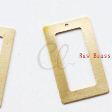30 Pieces Raw Brass Triangle 18.5mm 1733C-T-70