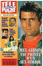 D- Télé Poche N°1394 Mel Gibson,Carlos,eddie Murphy,Les Inconnus