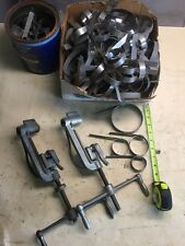 BAND-IT BANDING TENSIONER CLAMP TOOL STRAPPING + Lot Of Clamps