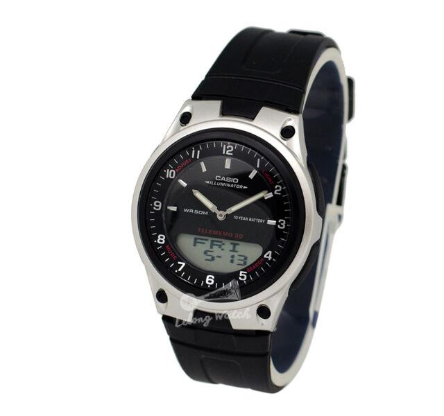 -Casio AW80-1A Analog- Digital Watch Brand New & 100% Authentic
