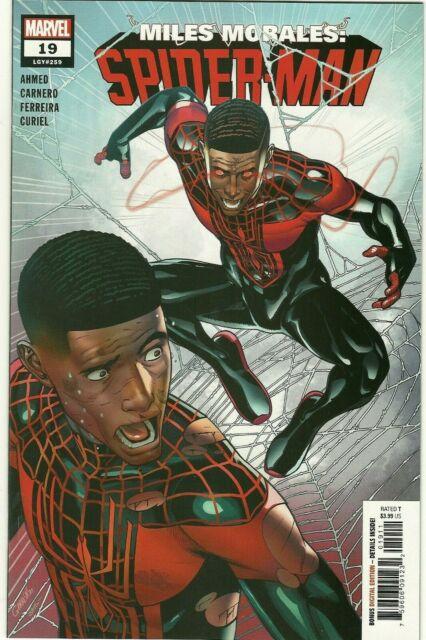 Miles Morales Spider-Man #19 2020 NEW Javi Garron CLONE Cover 19A Marvel Comic