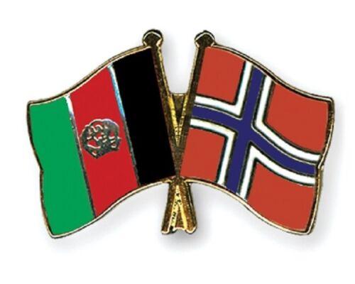 12 x Afghanistan Norway Friendship Enamel Pin Badges 2-4 week lead time