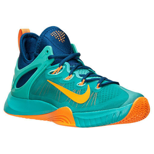 705370-484 Nike HyperRev 2015 Basketball Light Retro bluee Citrus Sz 8-13 NIB